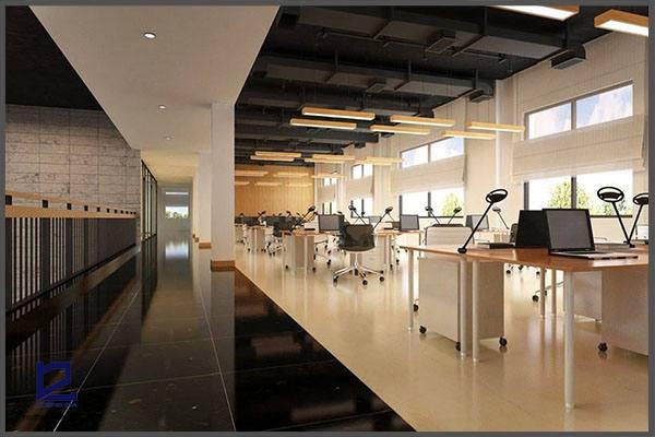 Thiết kế nội thất văn phòng hiện đại.