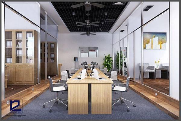 Mẫu thiết kế nội thất văn phòng VP-DG23 (góc chụp 2)