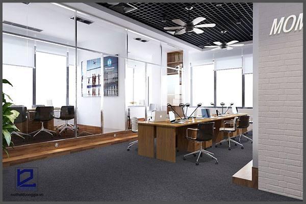 Mẫu thiết kế nội thất văn phòng VP-DG23 (góc chụp 3)