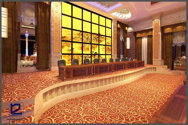 Thiết kế hội trường khách sạn FIVITEL HT-DG18 góc 2 góc 3