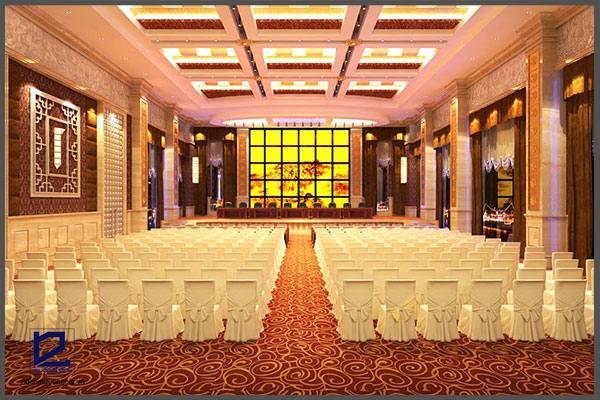 Thiết kế hội trường khách sạn FIVITEL HT-DG18 góc 1.