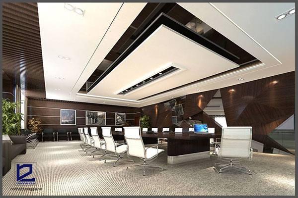 Thiết kế nội thất phòng họp công ty Tiến HàPH-DG22 (góc chụp 4)