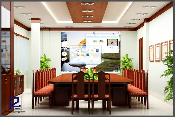 Mẫuthiết kế phòng họp PH-DG10 (góc chụp 1)