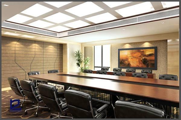 Mẫu thiết kế nội thất phòng họpPH-DG21 góc 2