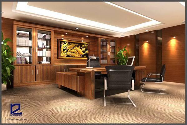 Thiết kế phòng chủ tịch HĐQT công tyCKC GD-DG15 (góc chụp 3)