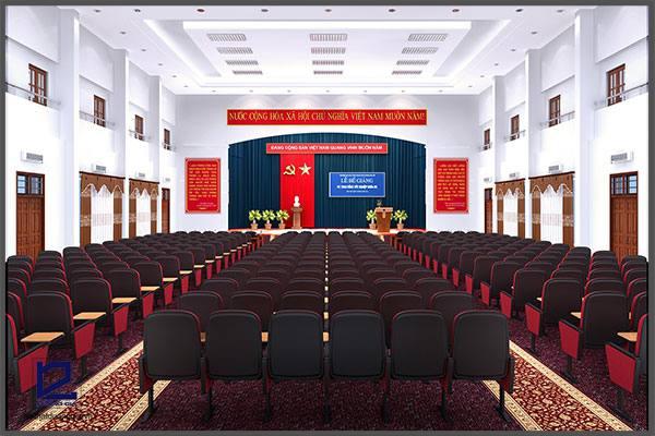 Thiết kế hội trường Trường ĐHCN Giao thông vận tải HT-DG05 phương án 2.