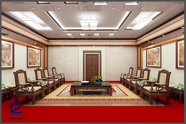Thiết kế nội thất phòng khánh tiếtKT-DG11 (góc chụp 2)