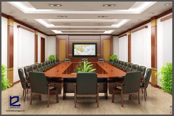 Thiết kế nội thất phòng họp công tyTGM PH-DG19  (góc chụp 3)