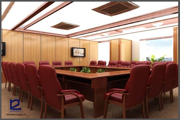 Thiết kế phòng họp công ty Xây lắp điện 1 PH-DG18  (góc chụp 3)