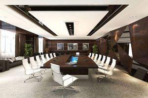 Thiết kế nội thất phòng họp công ty Tiến HàPH-DG22