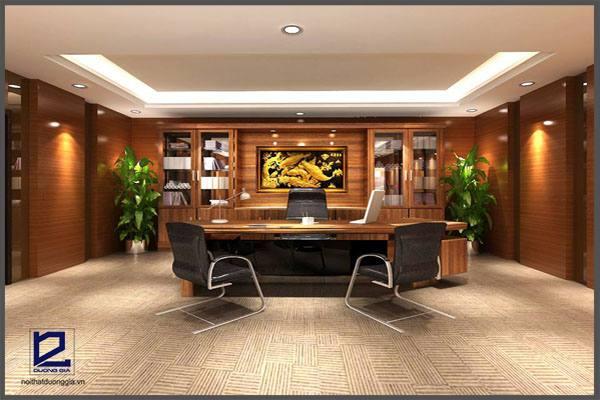 Thiết kế phòng chủ tịch HĐQT công tyCKC GD-DG15 (góc chụp 2)