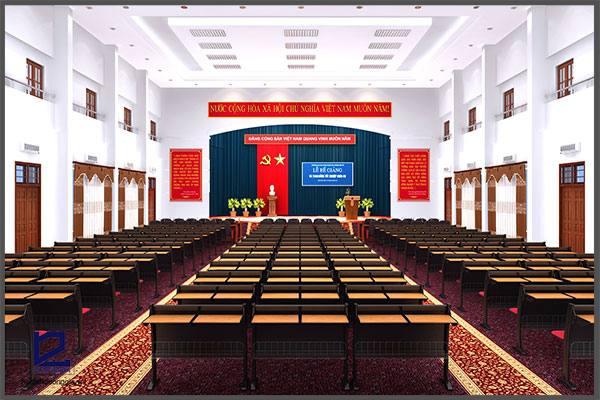 Thiết kế hội trường Trường ĐHCN Giao thông vận tải HT-DG05
