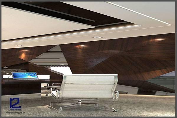 Thiết kế nội thất phòng họp công ty Tiến HàPH-DG22 (góc chụp 2)