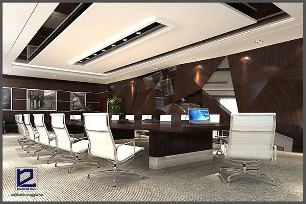 Thiết kế nội thất phòng họp công ty Tiến HàPH-DG22 (góc chụp 3)