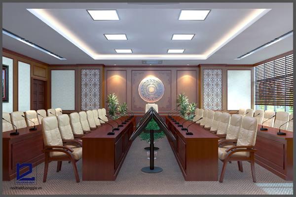 Mẫu thiết kế phòng họpPH-DG08 (góc chụp 1)