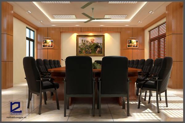 Mẫu thiết kế phòng họpPH-DG09 (góc chụp 1)