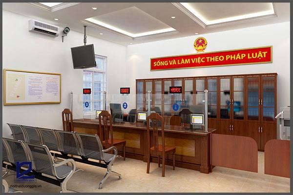 Mẫu thiết kế nội thất văn phòng VP-DG10 (góc chụp 2)