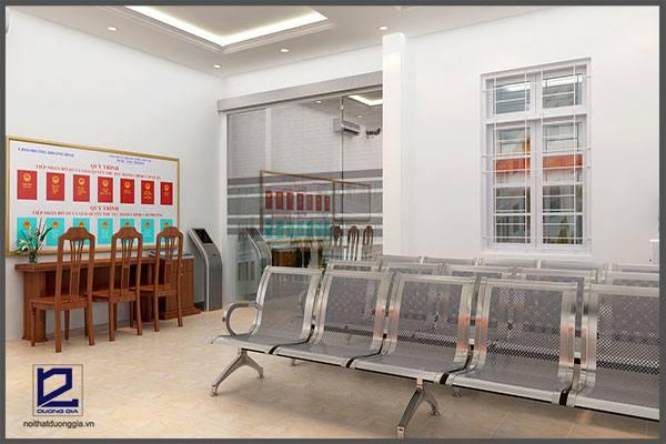 Mẫu thiết kế nội thất văn phòng VP-DG10 (góc chụp 1)