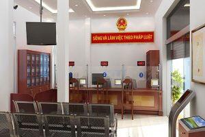 Mẫu thiết kế nội thất văn phòng VP-DG11