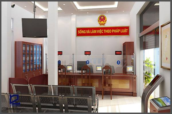 Mẫu thiết kế nội thất văn phòng VP-DG11 (góc chụp 1)