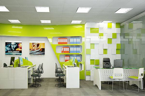 Lựa chọn màu sắc trong thiết kế văn phòng hiện đại theo diện tích sử dụng