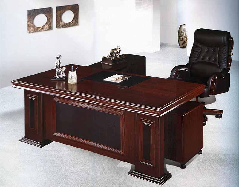 Mẫu bàn giám đốc bằng gỗ đẹp