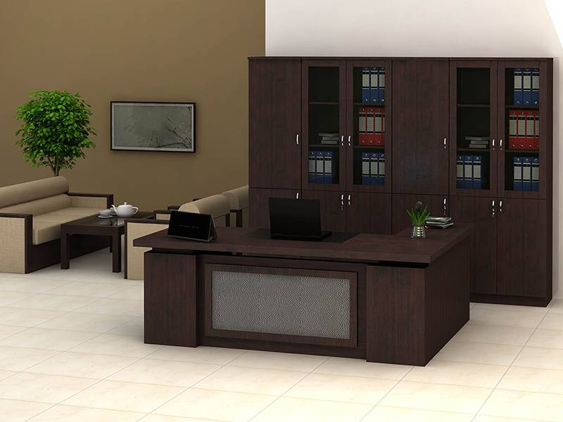 Mẫu bàn giám đốc bằng gỗ tự nhiên đẹp