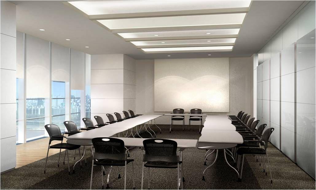 Mẫu thiết kế nội thất phòng họp đẹp
