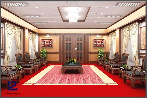 Thiết kế nội thất phòng khánh tiết KT-DG12 (góc chụp 2)