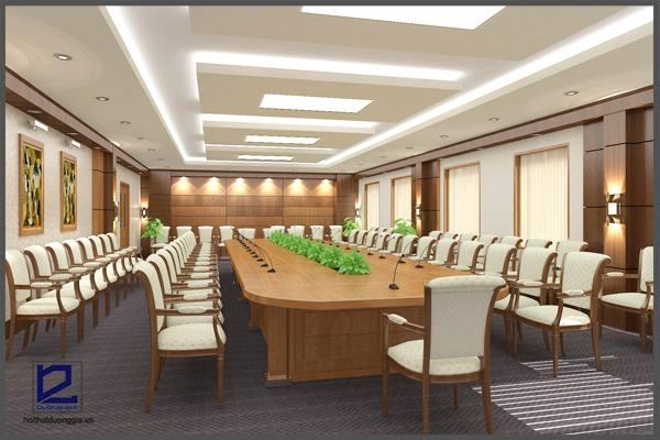 Mẫu thiết kế nội thất phòng họpPH-DG14 (ảnh 2)