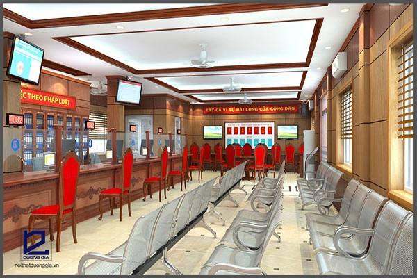Thiết kế phòng một cửa quận Thanh Xuân VP-DG09 (góc chụp 1)