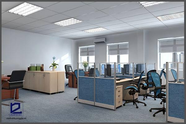 Thiết kế phòng làm việc quận ủy Thanh Xuân VP-DG14 (góc chụp 1)