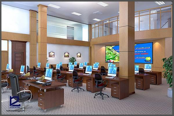 Mẫu thiết kế nội thất văn phòng VP-DG04 (góc chụp 2)