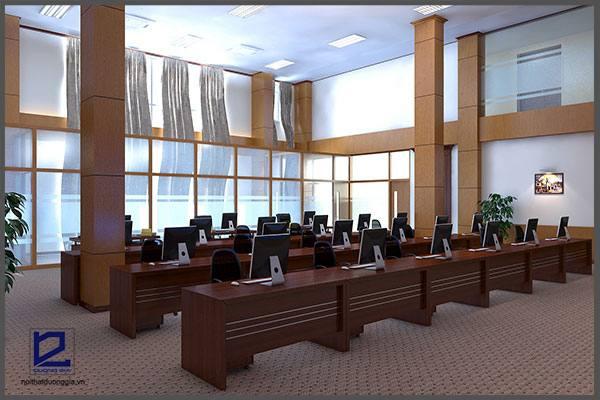 Mẫu thiết kế nội thất văn phòng VP-DG04 (góc chụp 1)