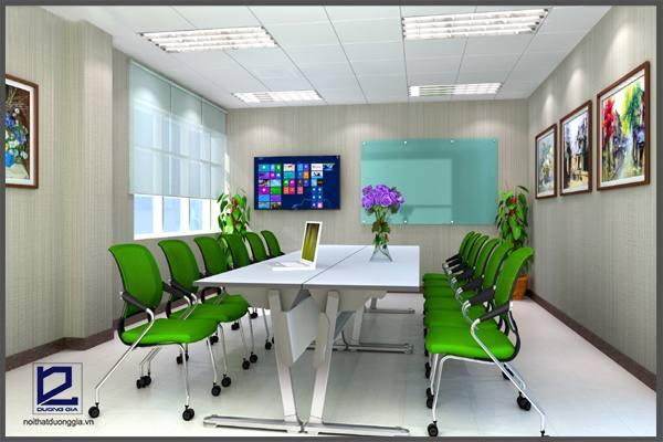 Lựa chọn bàn ghế cho phòng họp cần chú ý đến kiểu dáng thiết kế.