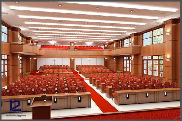 Thiết kế hội trường công ty Điện lực Phú Xuyên HT-DG17