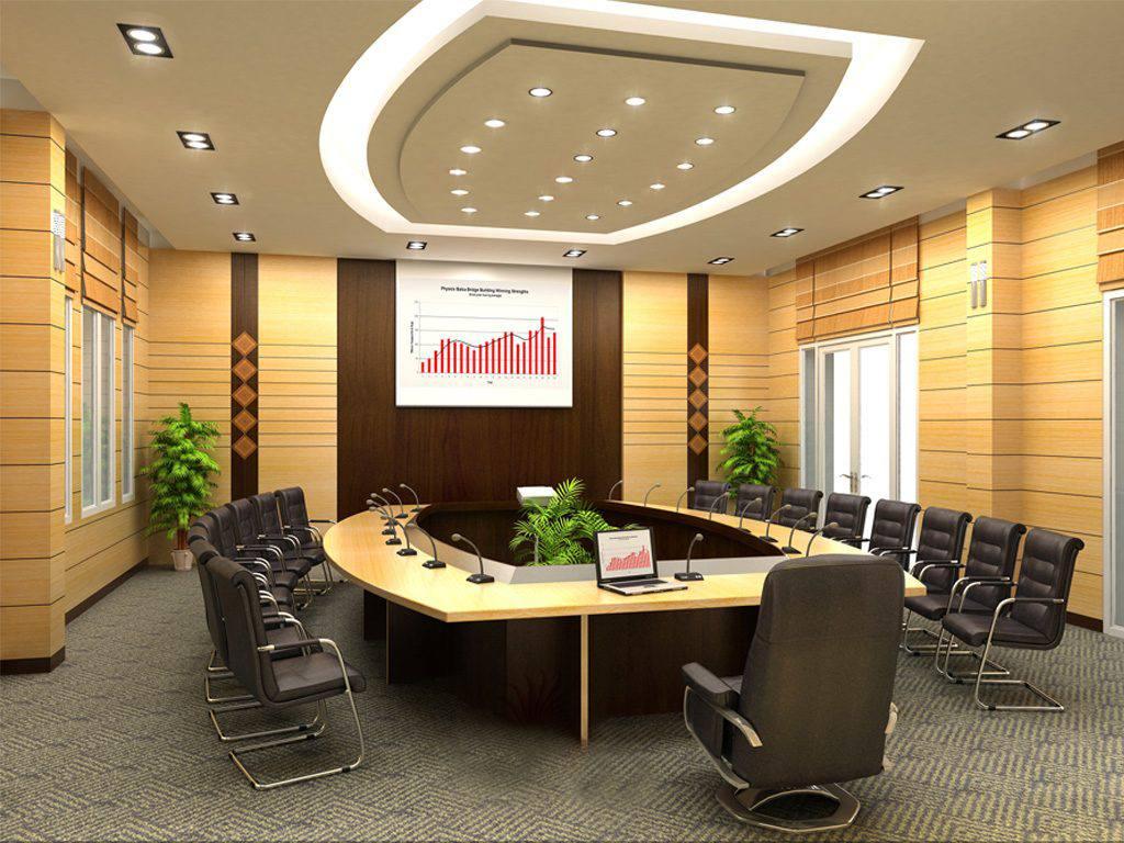 Thiết kế nội thất phòng họp đẹp, sang trọng