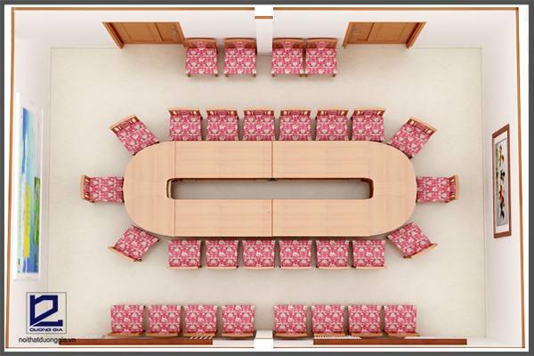 Mẫuthiết kế phòng họpPH-DG11 nhìn tổng thể