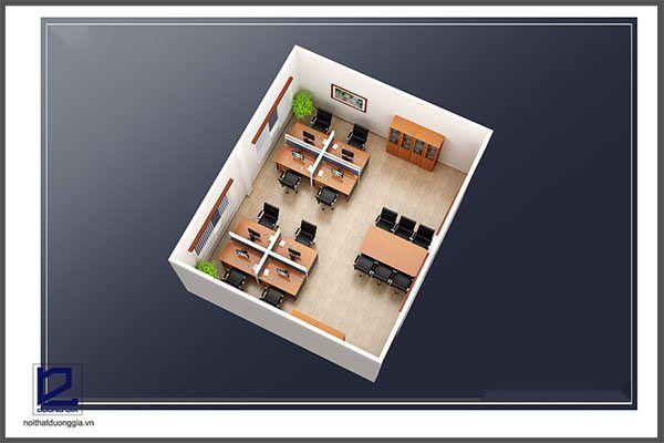 Thiết kế phòng kỹ thuật công ty khoáng sản TMG VP-DG19