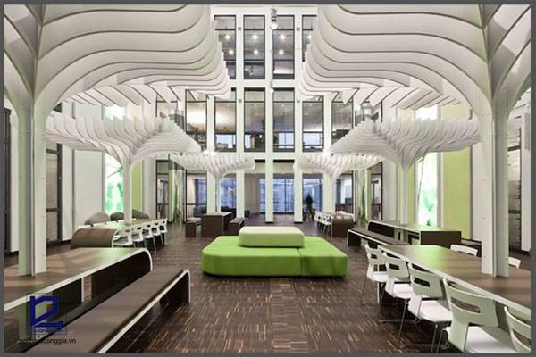Ý tưởng thiết kế văn phòng độc đáo nhất thế giới.