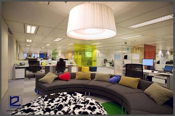 Ý tưởng thiết kế văn phòng độc đáo của Google