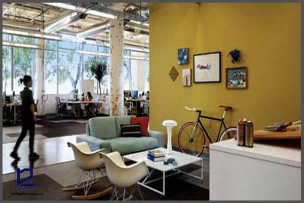 Ý tưởng thiết kế văn phòng độc đáo của Facebook