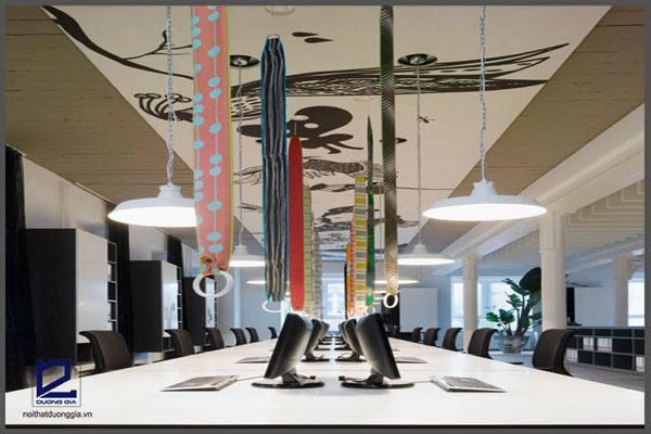 Thiết kế tại văn phòng mới của tập đoàn Ippolito Fleitz