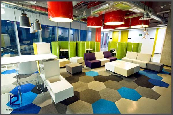 Mách bạn mẹo lựa chọn màu sắc trong thiết kế văn phòng hiện đại