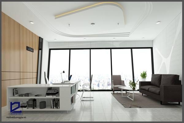 Xu hướng thiết kế phòng giám đốc theo không gian mở tích hợp nhiều ưu điểm nổi trội.