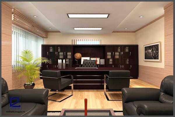 Mẫu thiết kế phòng Giám đốc GD-DG05 (góc chụp 1)