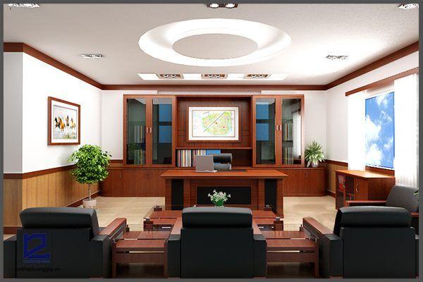 Thiết kế phòng phòng Giám đốc công đoàn quận Thanh XuânGD-DG06