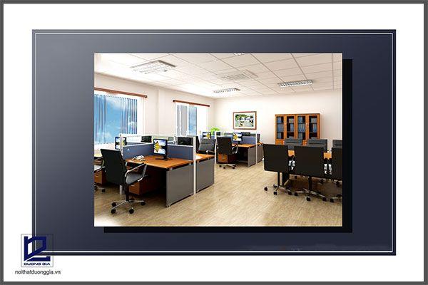 Thiết kế phòng kỹ thuật công ty khoáng sản TMG VP-DG19 - tổng quan 3