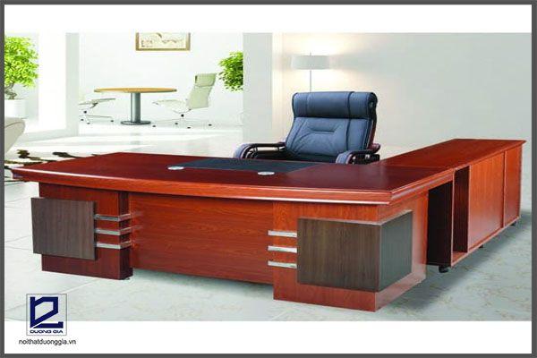Sản phẩm nội thất văn phòng Hòa Phát dành cho lãnh đạo.