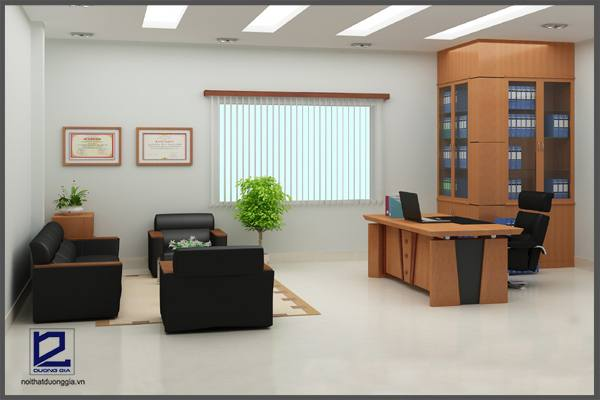 Mẫu thiết kế phòng Giám đốc GD-DG14 (góc chụp 2)